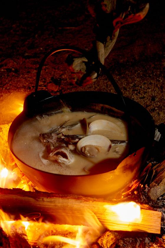宮下司の日本料理の美意識と根元 漁師の浜鍋