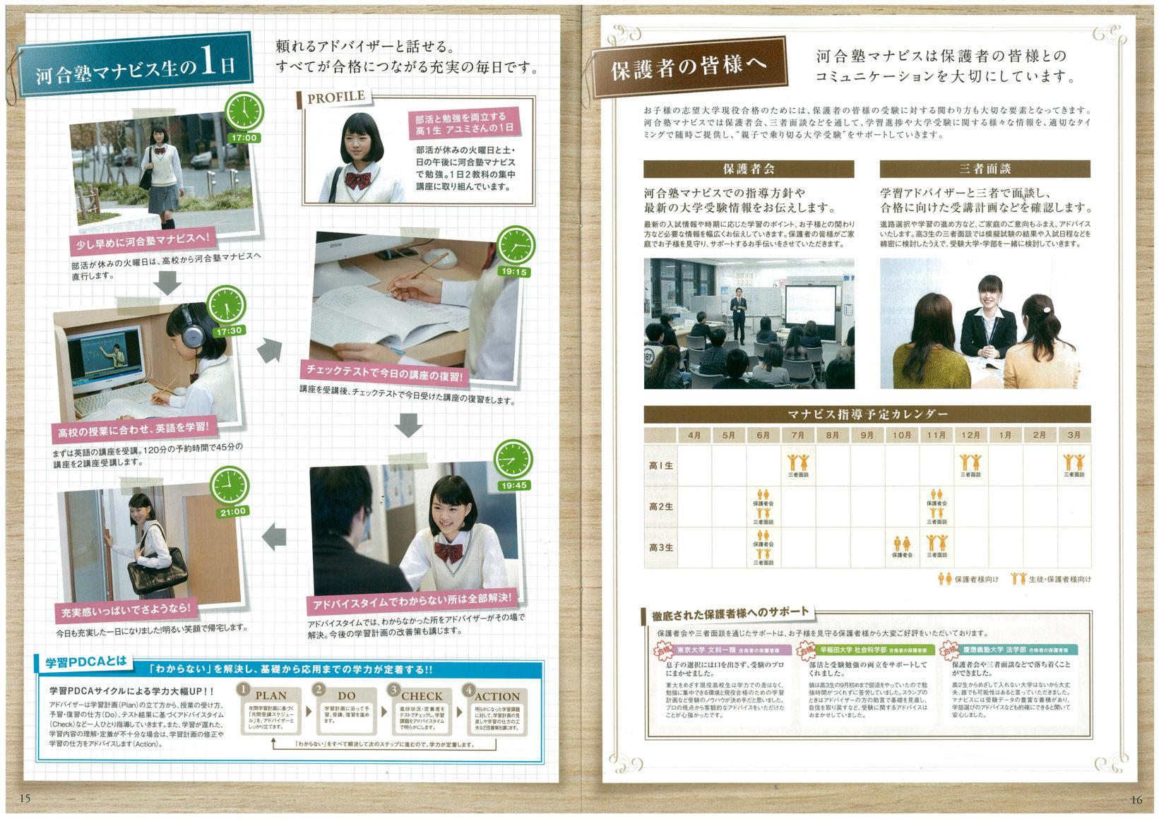 株式会社河合塾マナビス / Mar.2016 - 04